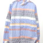 2017SS/ Round Collar Shirts Multi ラウンドカラーシャツ
