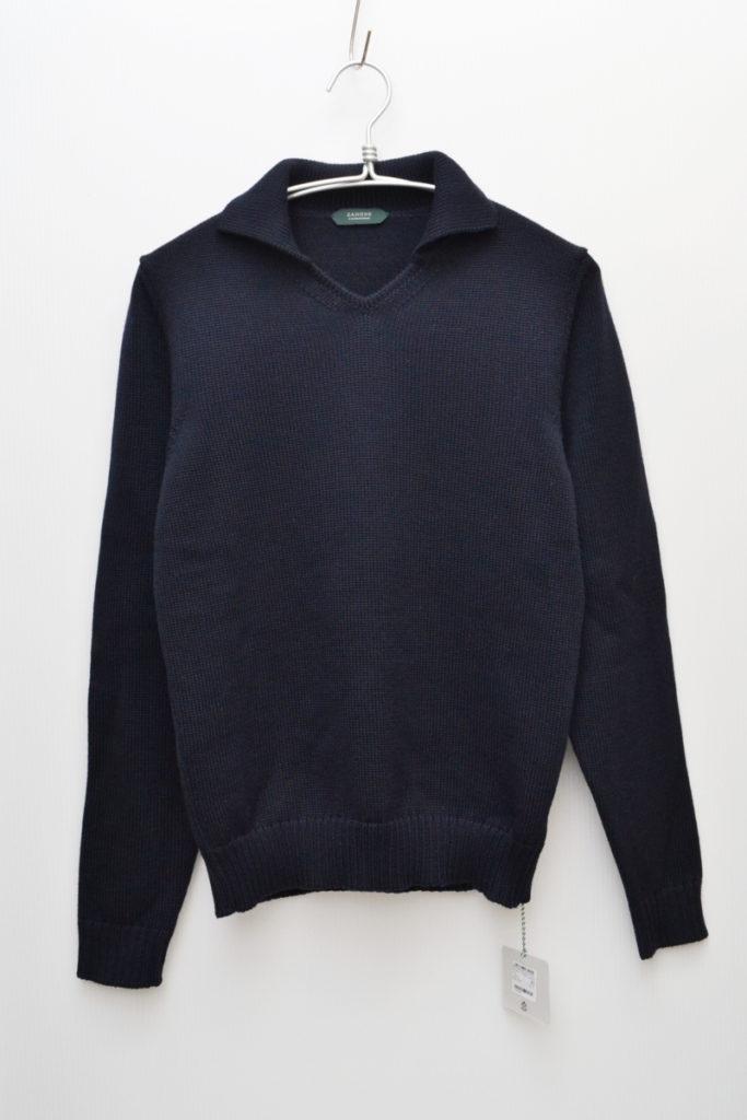 GIRO POLO ミドルゲージ ポロカラーニット セーター
