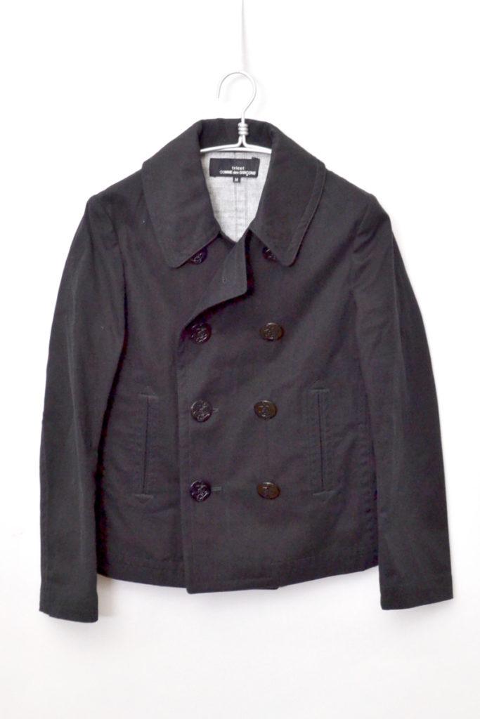 AD2002 02SS/ コットンボンディング ショートPコート ジャケット