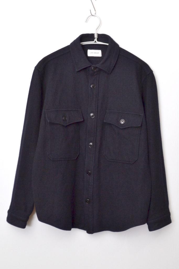 LIKE WEAR/C.P.O SHIRT ウールメルトン CPOシャツジャケット