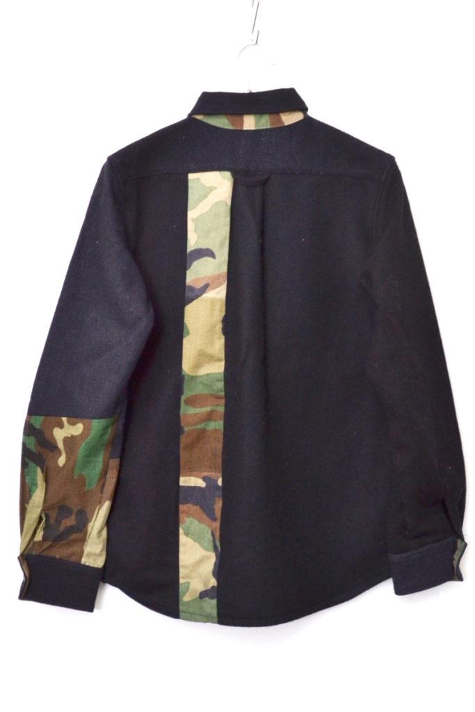 CPO CAMO LSシャツ カモフラ切替 CPOシャツの買取実績画像