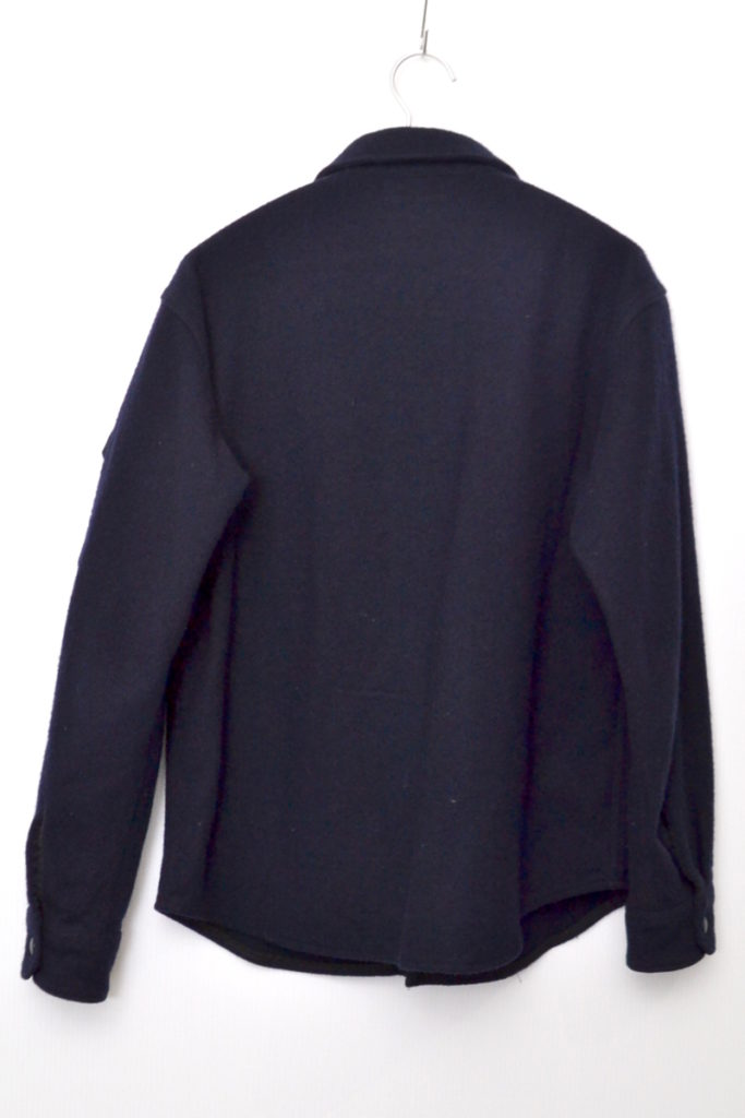 CPO Navy Wool Shirt Jacket ウール CPOシャツ ジャケットの買取実績画像