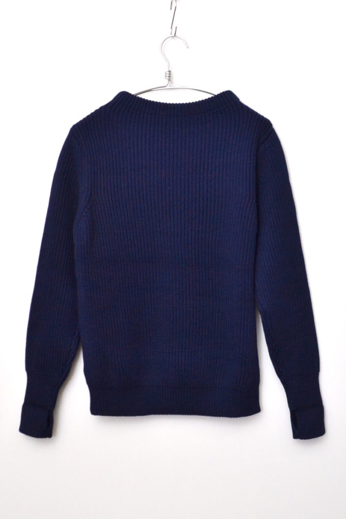 THE NAVY – CREWNECK 5GG / ROYAL NAVY フィッシャーマンニット