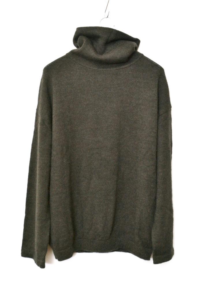 アルパカ混紡 タートルネックニット セーター