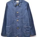 LARRY'S COLLECTION/ライトウェイトデニム チェンジボタン カバーオールジャケット