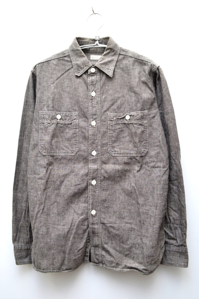 DUCK DIGGER/WAREHOUSE/Chambray work shirt シャンブレー ワークシャツ