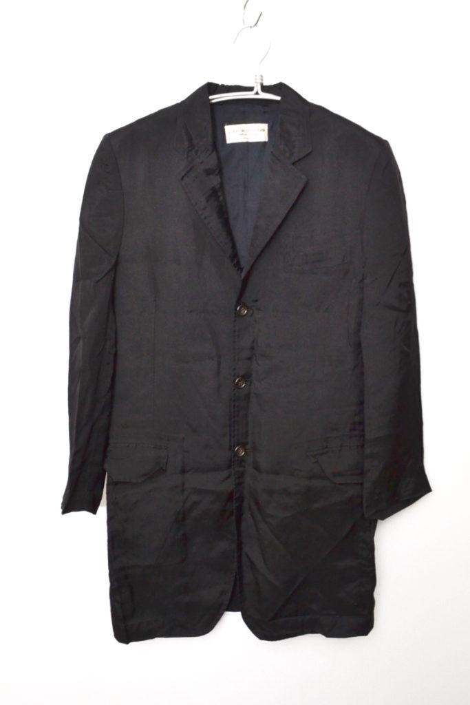 AD1991 レーヨン ロングテーラードジャケット