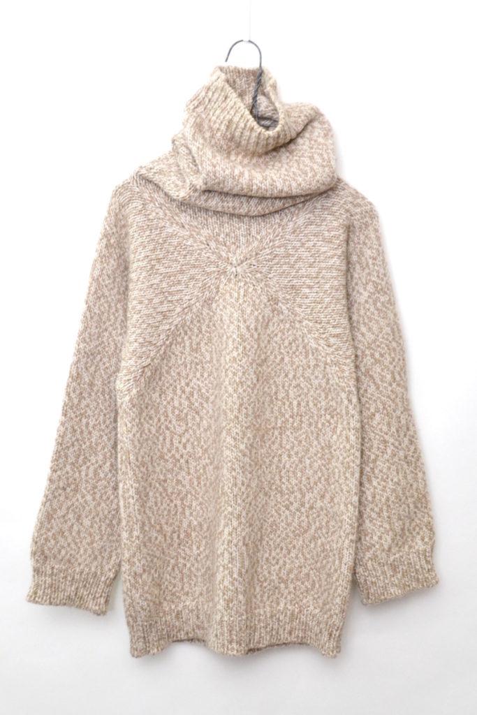 2000AW MISS DEANNA/肉厚ニット タートルネックセーター