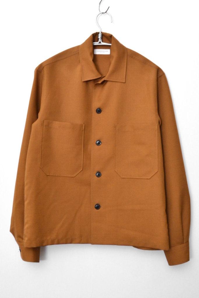 2018AW/ モヘヤトロピカル オープンカラーシャツ
