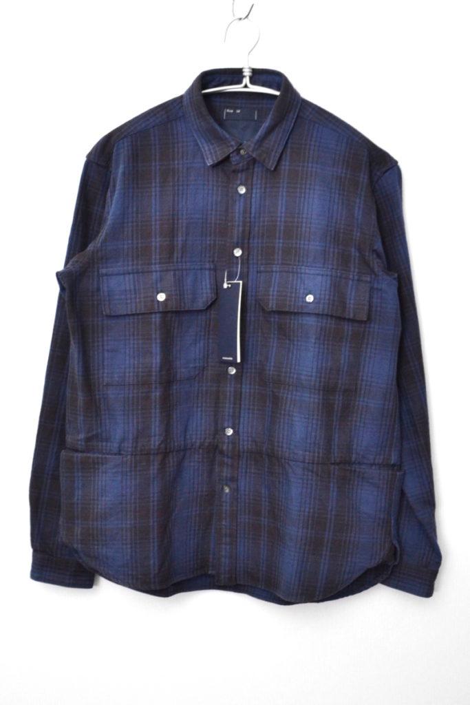 2018AW/ Flannel Check Shirt Jacket フランネル チェック シャツ ジャケット