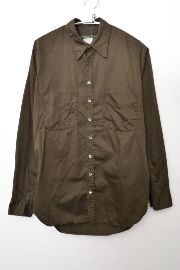 Mens Shirt コットン 長袖シャツ