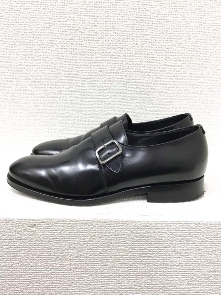シングルモンクストラップ シューズ 革靴の買取実績画像