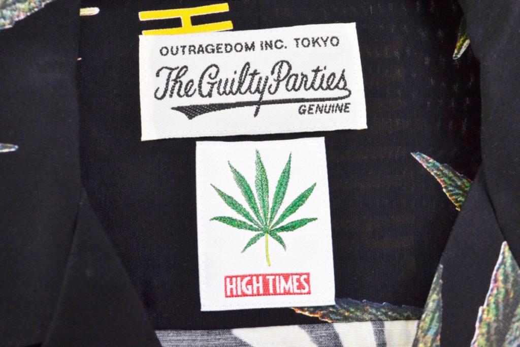 × HIGHTIMES ◆ HAWAIIAN SHIRT ( type-2) マリファナ アロハシャツの買取実績画像