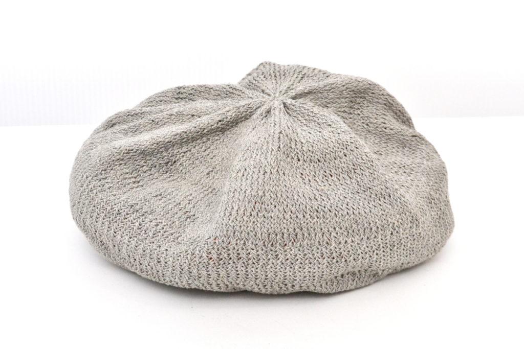 コットンニット ベレー帽