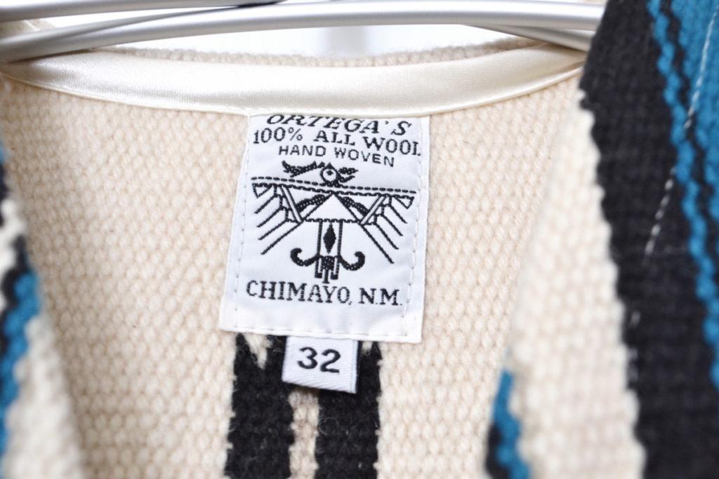 ウール フロント ストライプ チマヨベストの買取実績画像