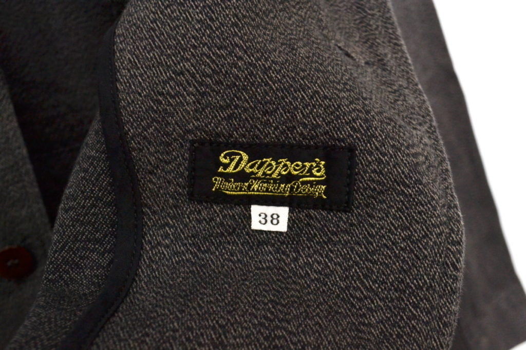 黒杢コットン 3ピース 1930s セットアップ ジャケット ベスト パンツの買取実績画像