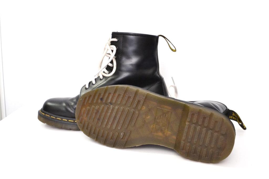 8ホール レザー ブーツの買取実績画像