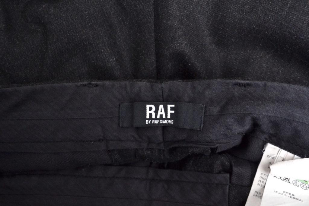RAF by raf simons/ウール テーパードパンツ スラックスの買取実績画像