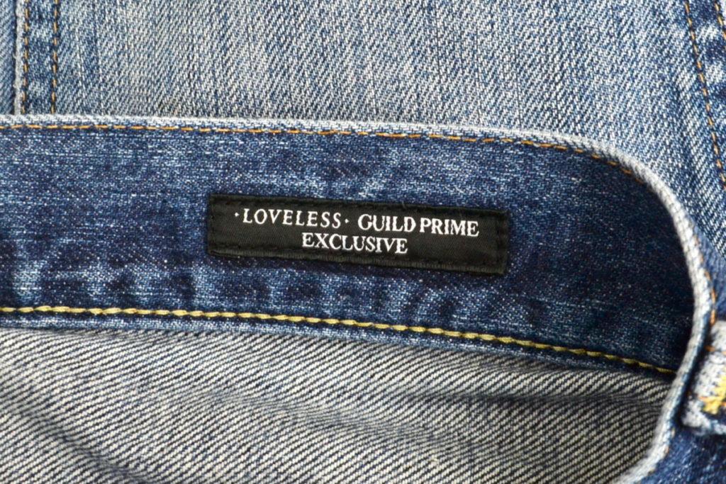 × LOVELESS GUILD PRIME ◆ 別注 asy Slim Straight デニムパンツの買取実績画像
