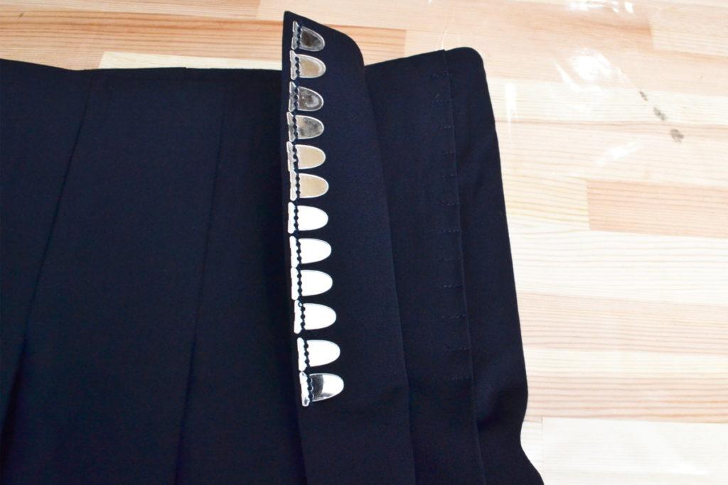 AD2004 04AW/ウールギャバジン ロング ラップスカートの買取実績画像