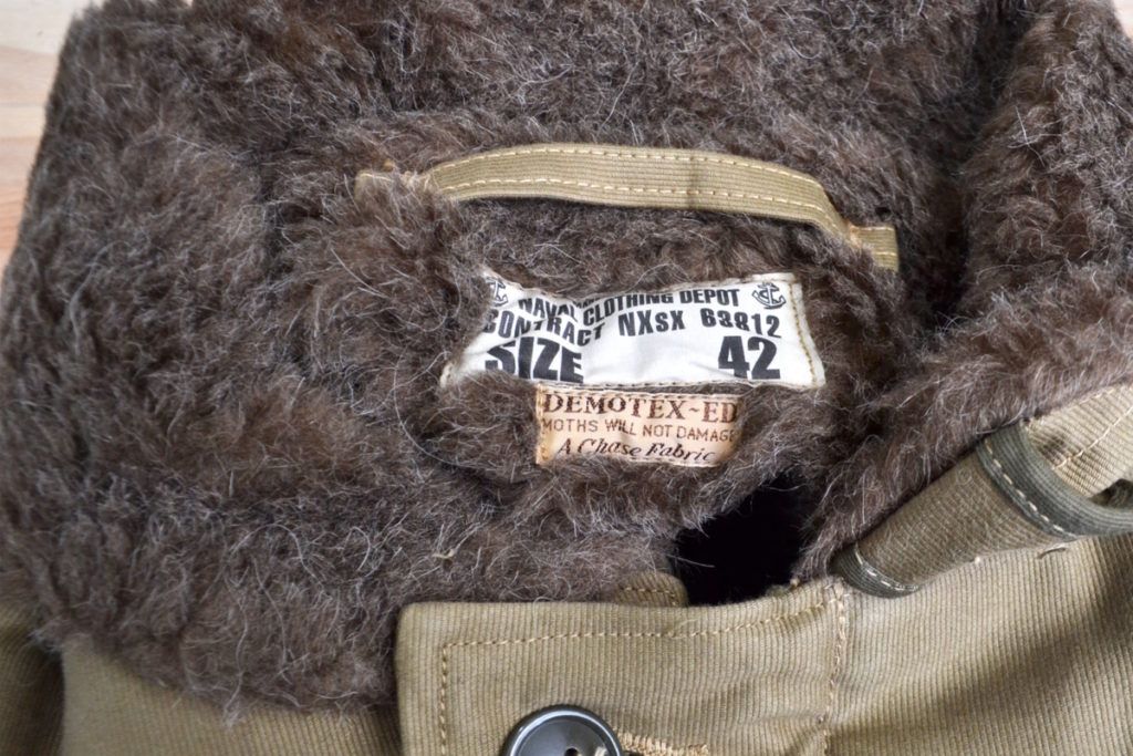 BR12032 NAVAL CLOTHING DEPOT DEMOTEX-ED N-1 デッキジャケットの買取実績画像