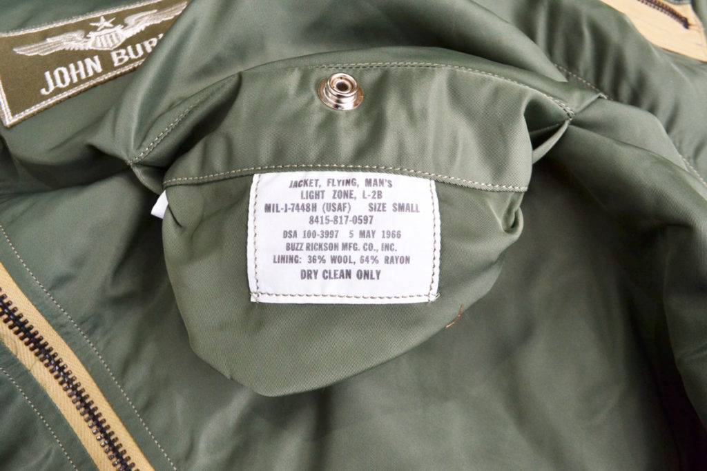 BR14181 Type L-2B H-TYPE PATCH パッチカスタム フライトジャケットの買取実績画像