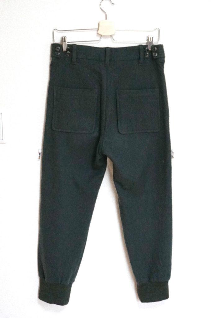 ウール裾リブ パンツ ジョガーパンツの買取実績画像