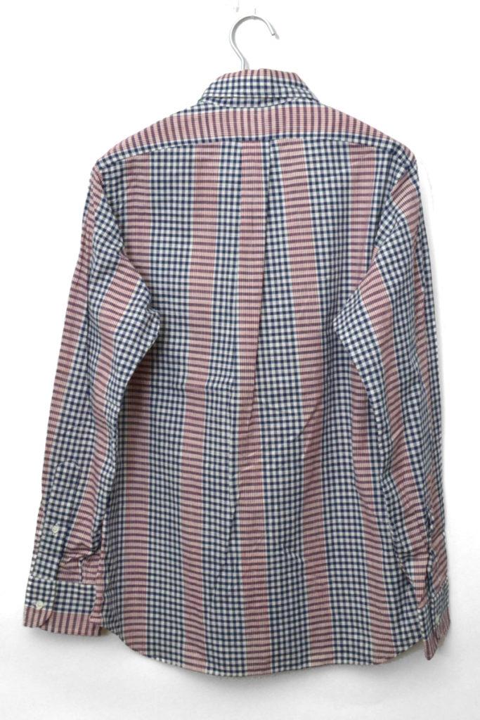 STANDARD FIT/ギンガムチェック切替 BDシャツの買取実績画像