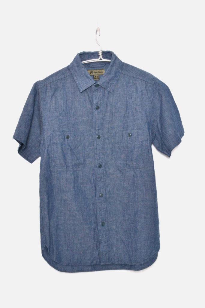MEDICAL SHIRT S/S コットンリネン 半袖メディカルシャツ