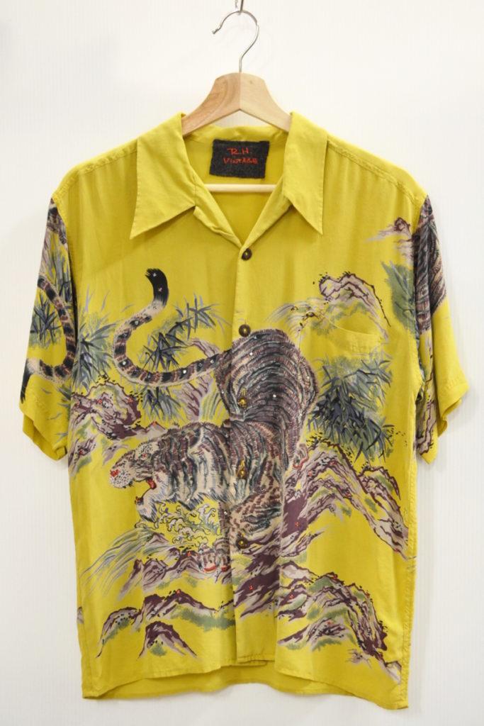 1990s 初期 シルクアロハシャツ