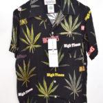 × HIGHTIMES ◆ HAWAIIAN SHIRT ( type-2) マリファナ アロハシャツ