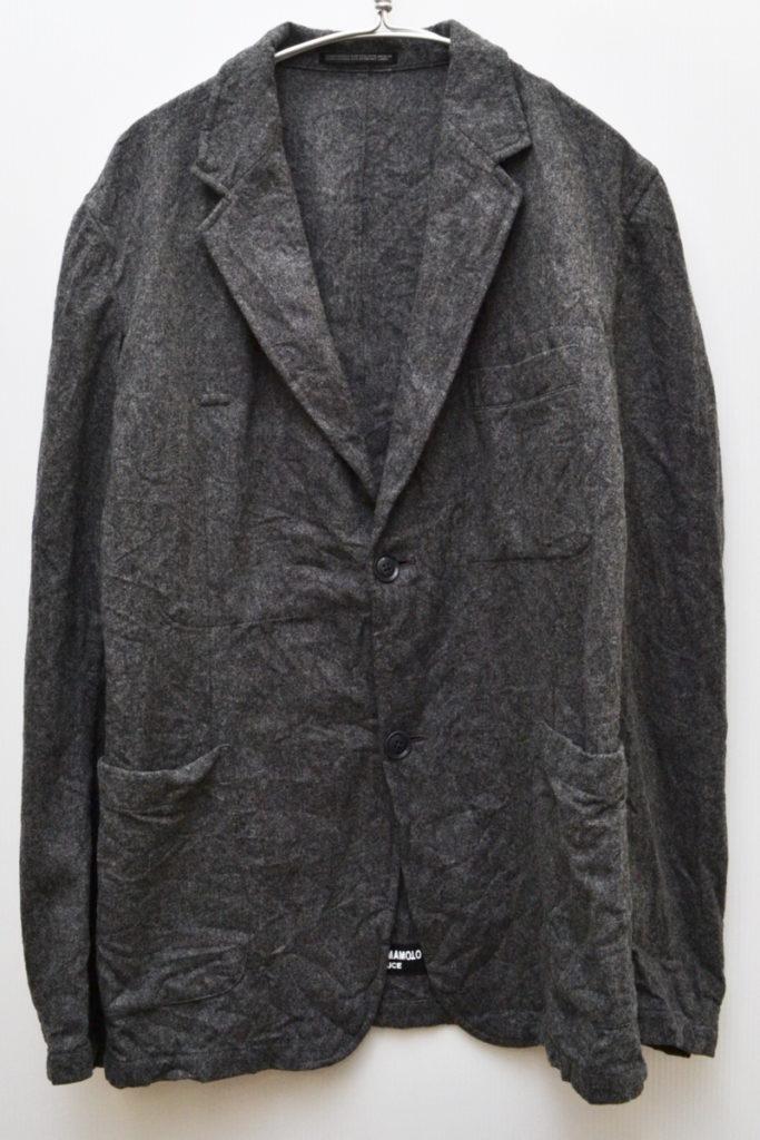 2018AW/縮絨ウール テーラードジャケット