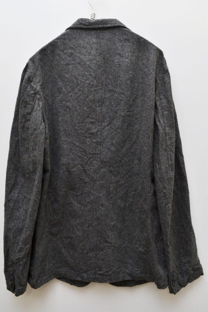 2018AW/縮絨ウール テーラードジャケットの買取実績画像