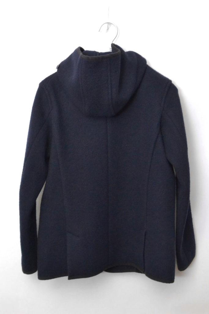 ウールモッサ ダブルボタンフードジャケット コートの買取実績画像