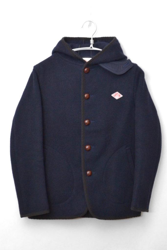 2016AW/ ウールモッサ フードジャケット コート