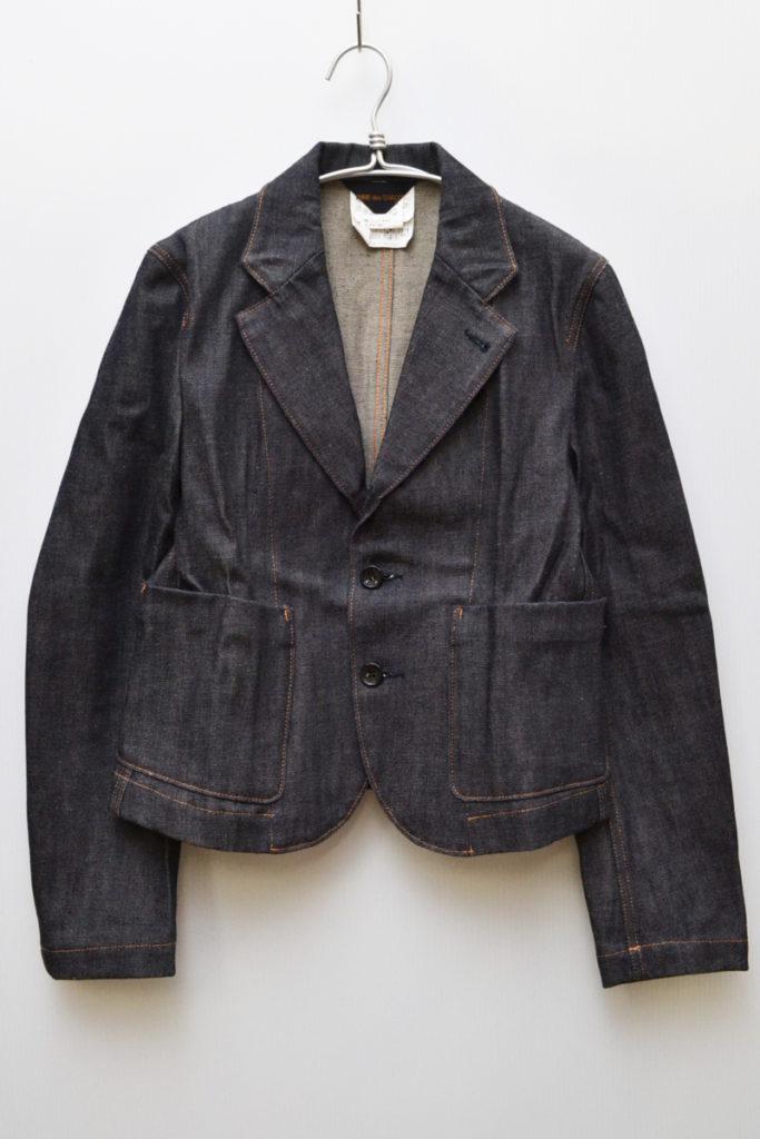 AD1999 90sヴィンテージ/リジットデニム テーラードジャケット