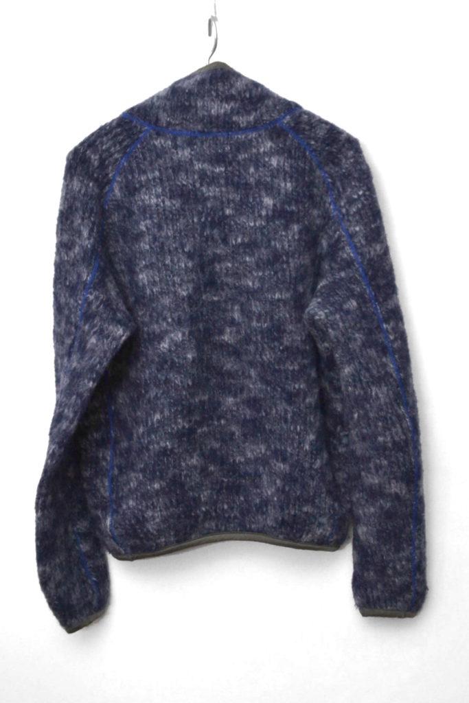 2017AW/ 撚り杢ウール起毛 プルオーバー ウールニット セーターの買取実績画像