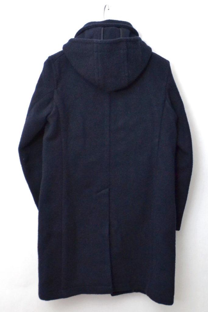 2015AW/ ウールモッサ フーデッド ラウンドカラーコートの買取実績画像