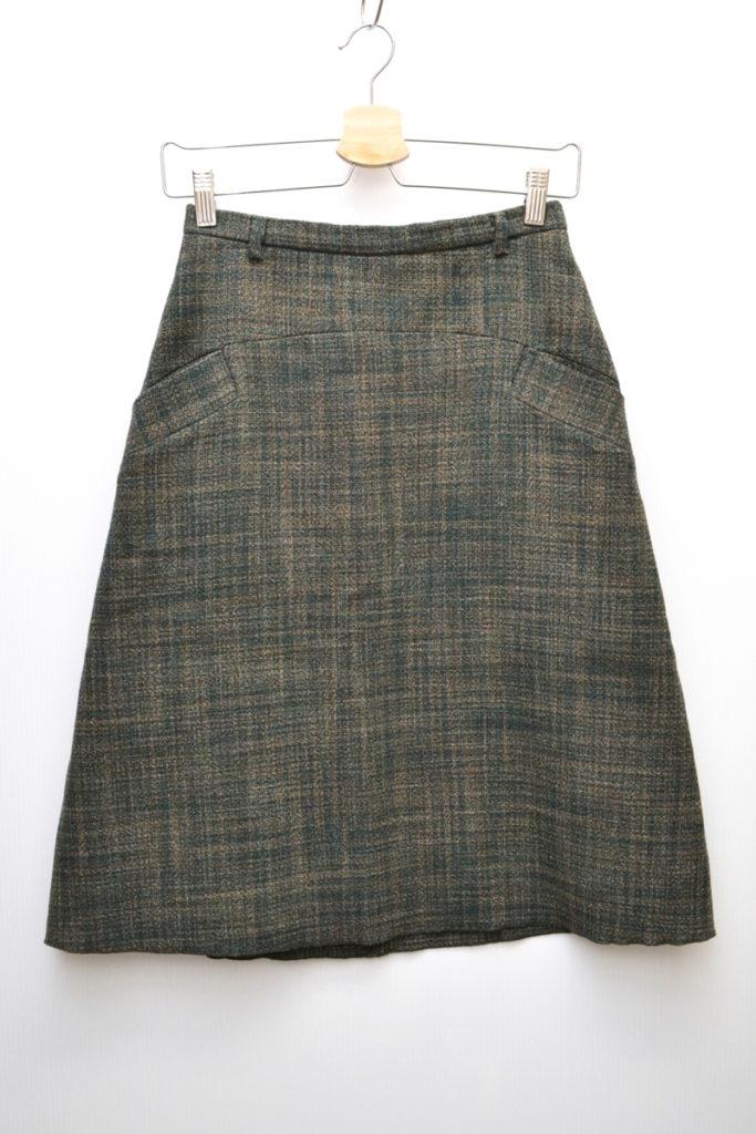 ウールツイード スカート