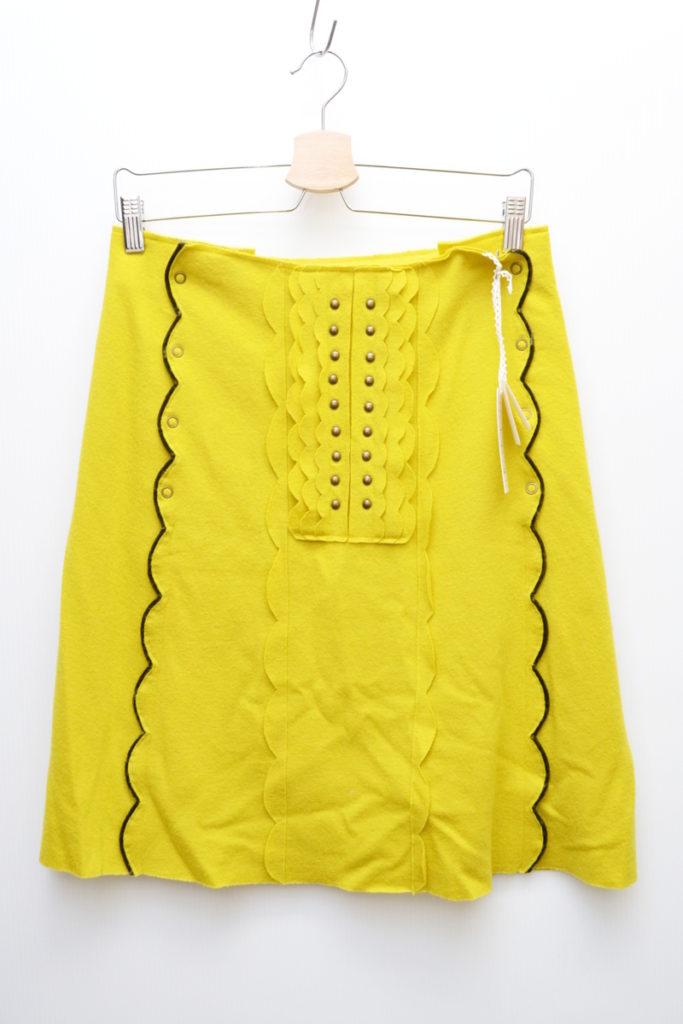 2005AW/merry メリー ウール スカート