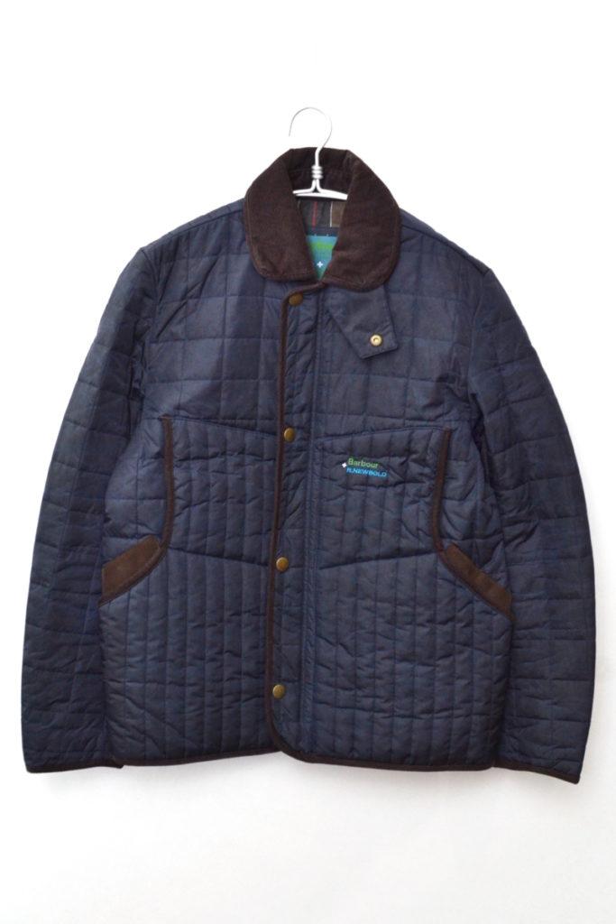 × R.NEWBOLD ◆ QUILTING JACKET パラフィン加工 キルティングジャケット