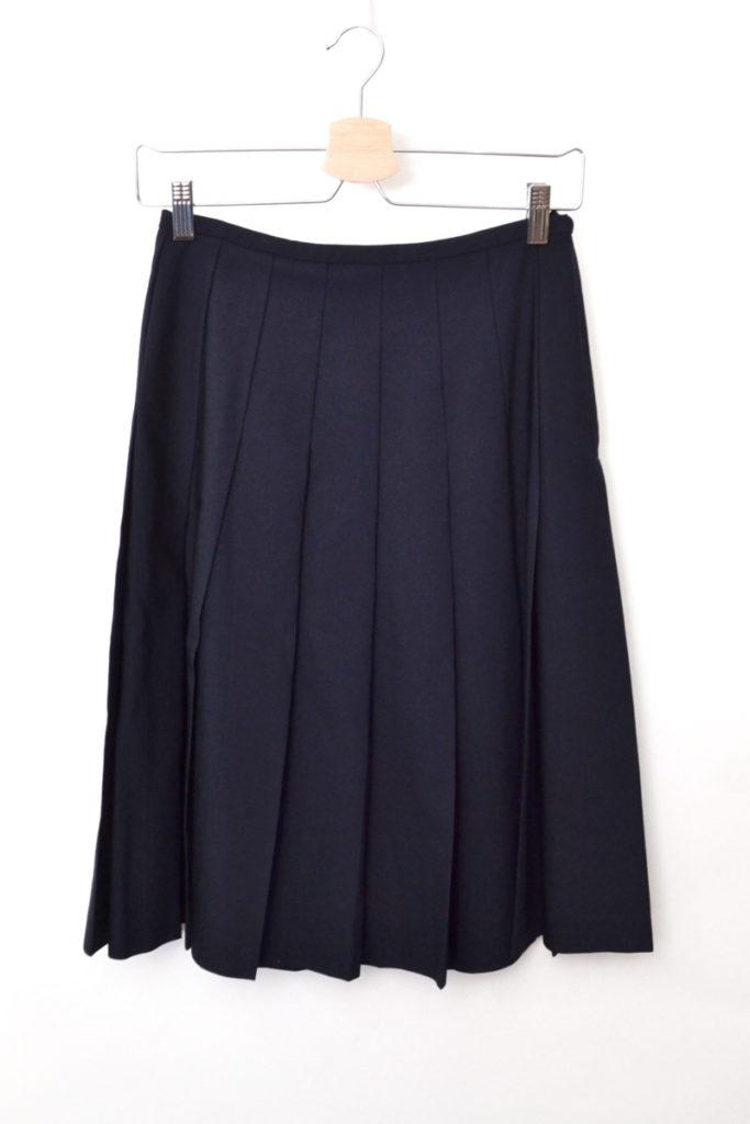 ウール プリーツスカート