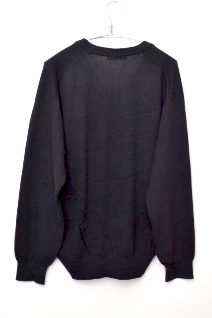 1980s 筆タグ Vネック オーバーサイズニット セーターの買取実績画像