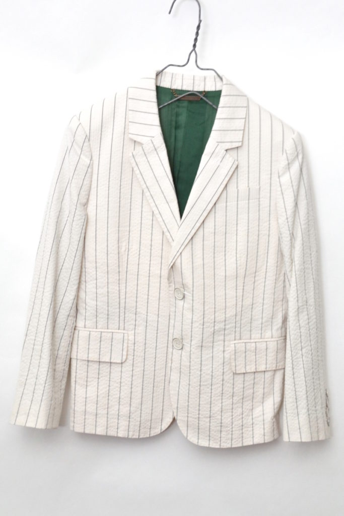 c.stripe seersucker kids jacket シアサッカー キッズジャケット