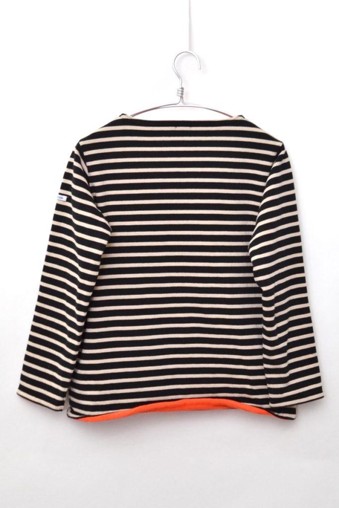 2018AW/ フリースライニング コットンロード ボーダーバスクシャツの買取実績画像