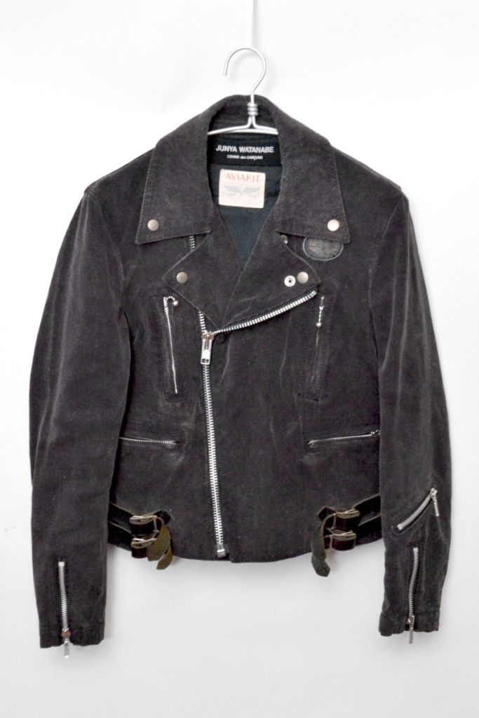 × Lewis Leather ◆ AD2004/ コーデュロイ ダブル ライダースジャケット