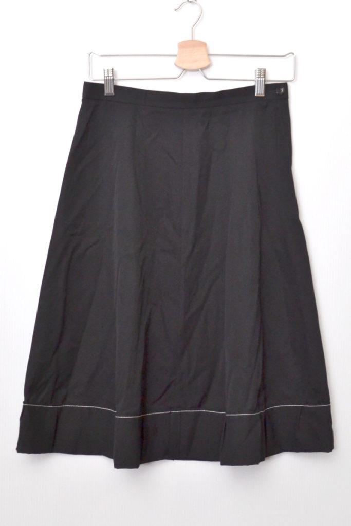 AD2000/ ウールギャバジン フレアスカート