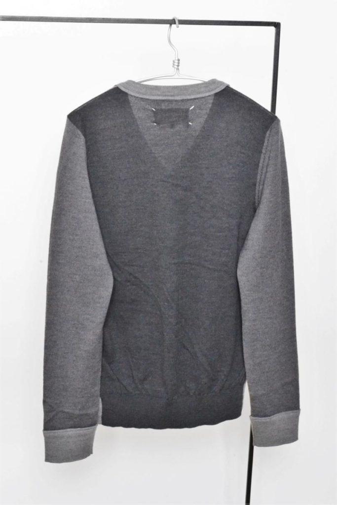 2015AW/ ウール 切替 Vネック ニット セーターの買取実績画像
