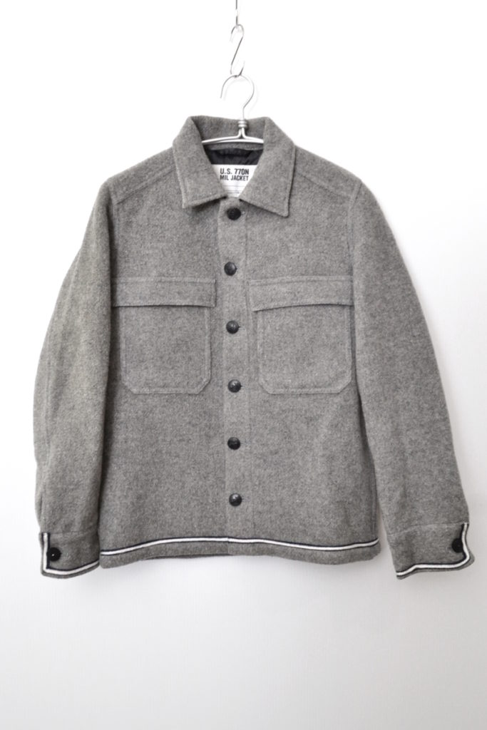 X STANDARD CALIFORNIA ◆ U.S.770N MIL JACKET CPOシャツジャケット