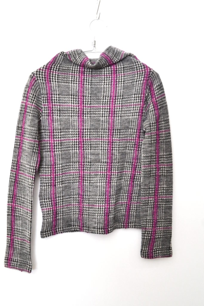2014AW/ウォッシュツイード ハイネックニット カットソー セーターの買取実績画像